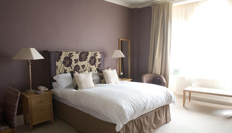 Bedroom at The Swan Hotel