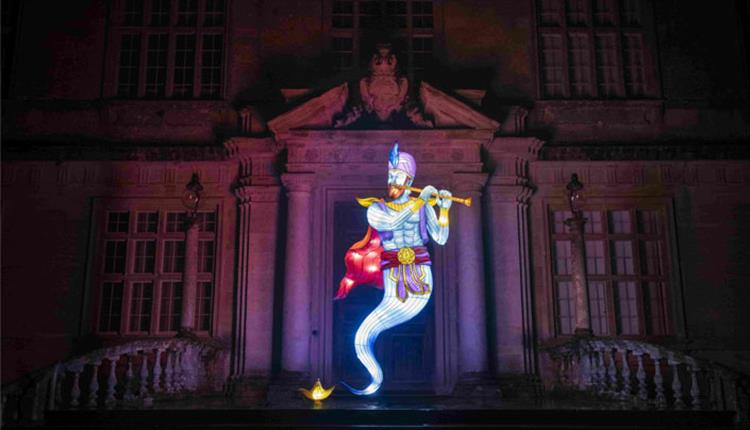 Magic at Longleat Festival of Light