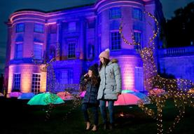 The Enchanted Garden of Light at American Museum & Gardens
