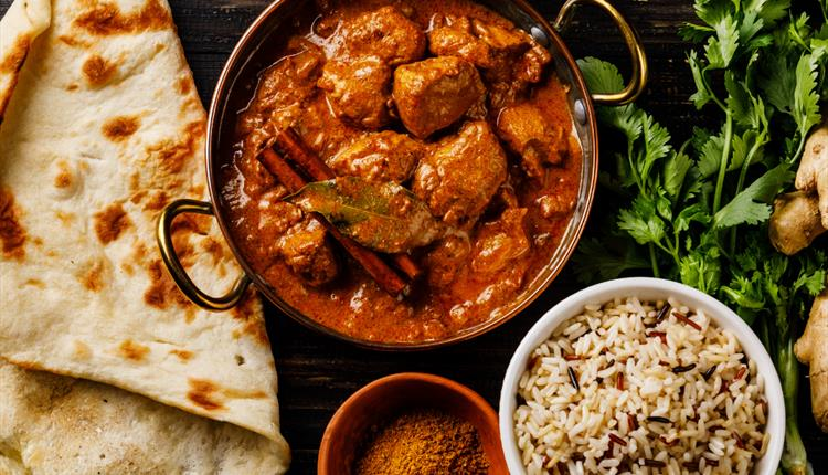 Online Family Class - Indian Curry