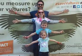 Family activities at Hawk Conservancy Trust
