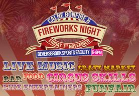 Calne fireworks and bonfire night 2019