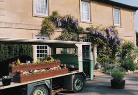 Widbrook Grange Exterior Summertime and Flowers