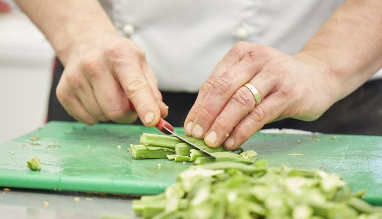 Knife Skills Cookery Class With Peter Vaughan