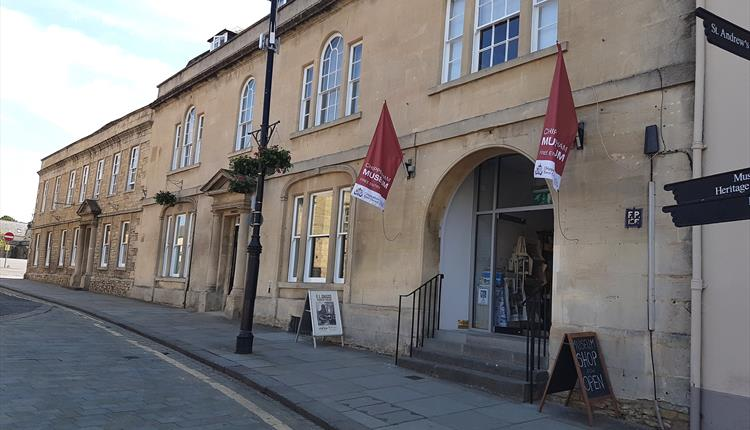 Chippenham Museum in Wiltshire - external