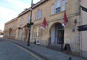Chippenham Museum in Wiltshire - external