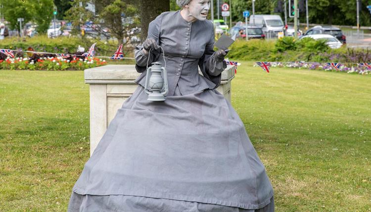 Pop-Up Performance: Florence Nightingale