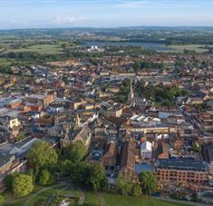 Trowbridge Aerial View