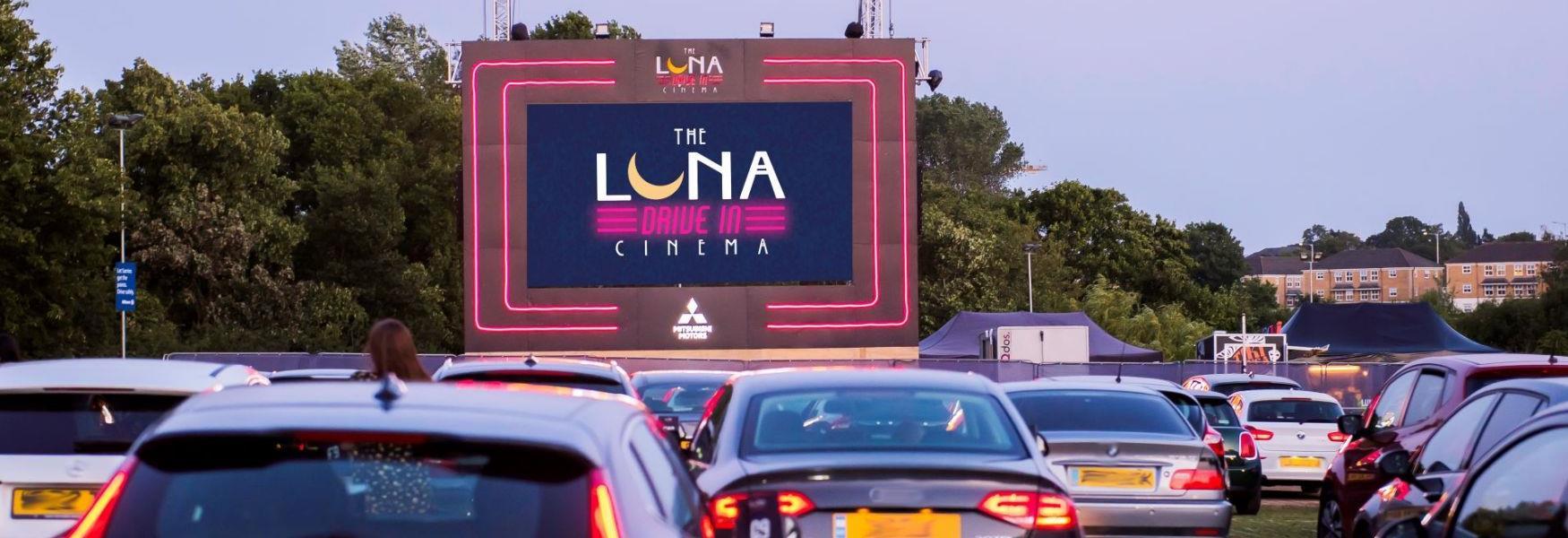 Luna Drive In Cinema at Ascot Racecourse
