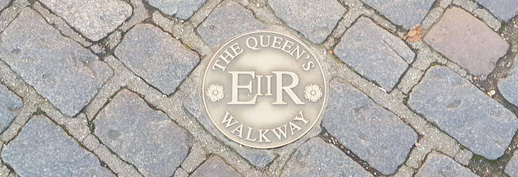 Follow The Queen's Walkway