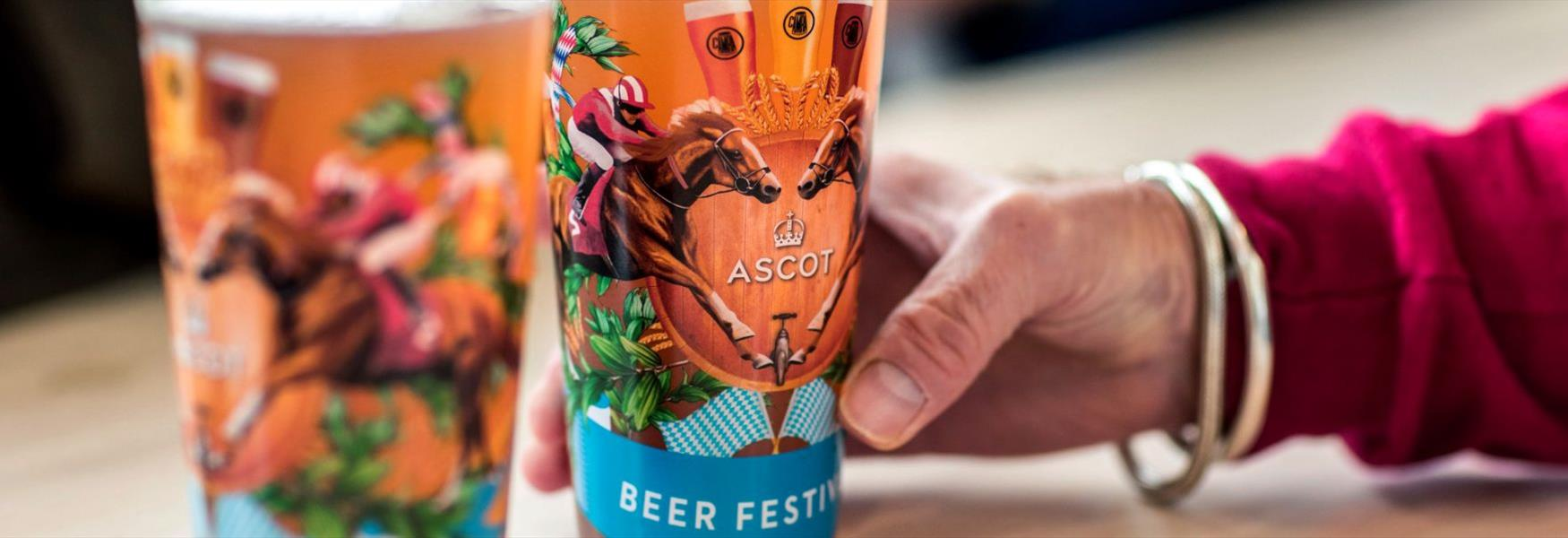 Ascot Beer Festival at the Autumn Racing Weekend