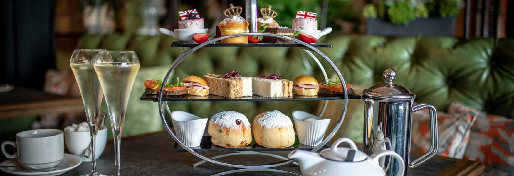 Castle Hotel Afternoon Tea in honour of Captain Sir Tom Moore and his Charity Foundation