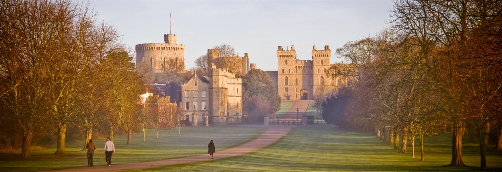 Windsor Castle and the Long Walk, photographed by Doug Harding