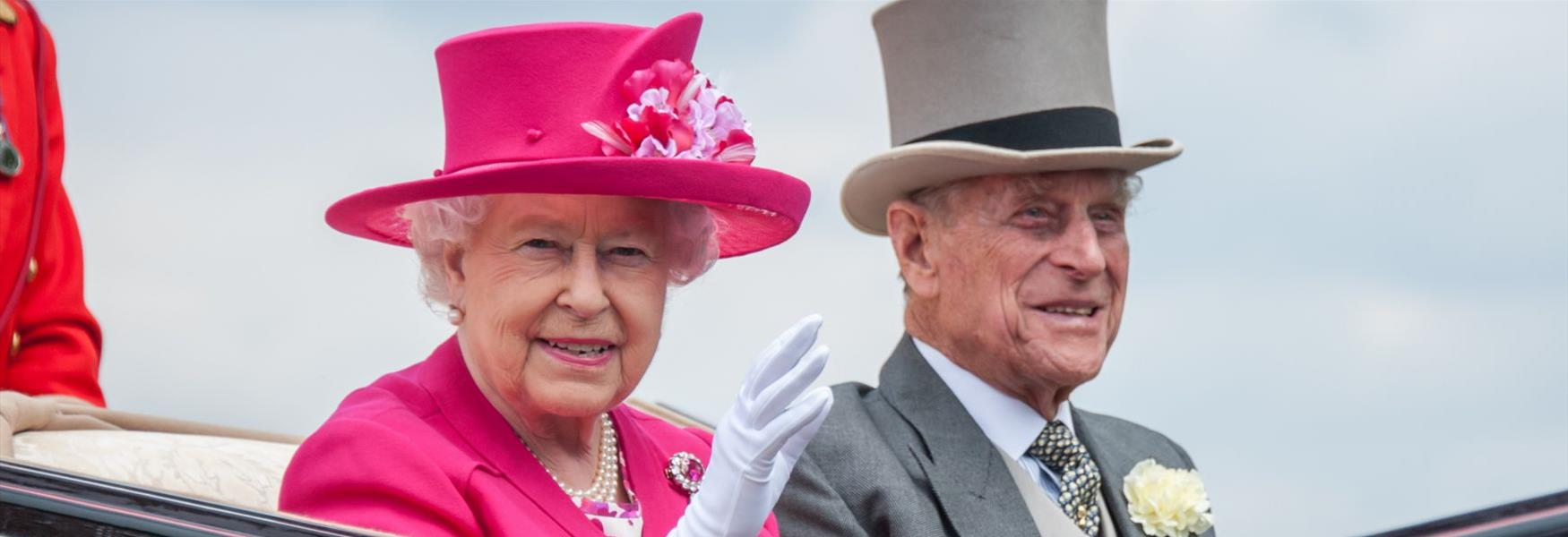 The Queen and The Duke of Edinburgh travel to Royal Ascot © Gill Aspel 2015