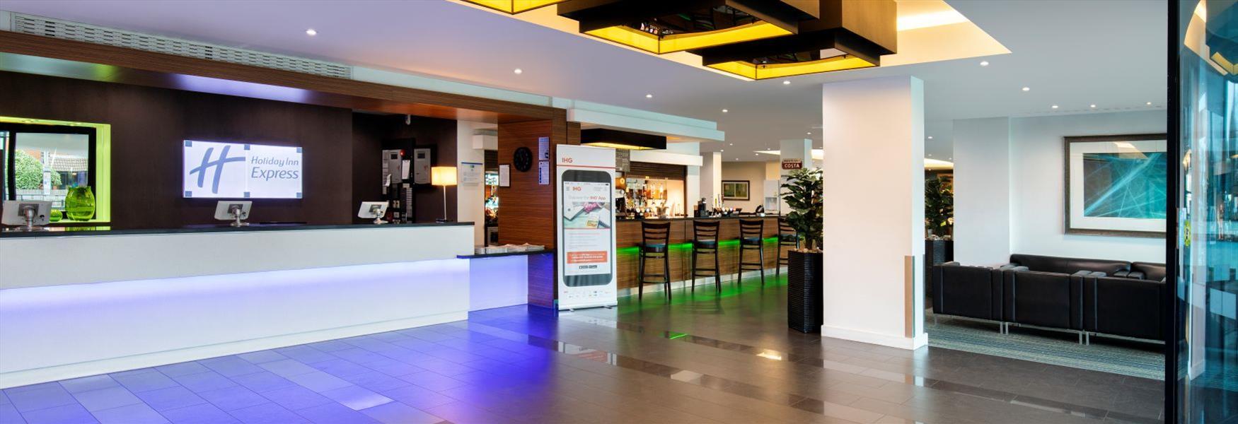 Comfortable, family-friendly Holiday Inn Express London Heathrow T5