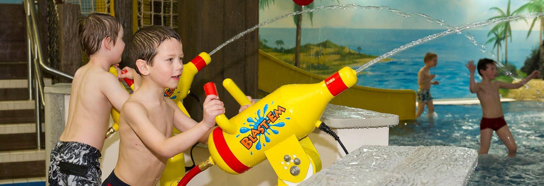 Children will love the LEGO Pirates Themed splash pool at the LEGOLAND hotel