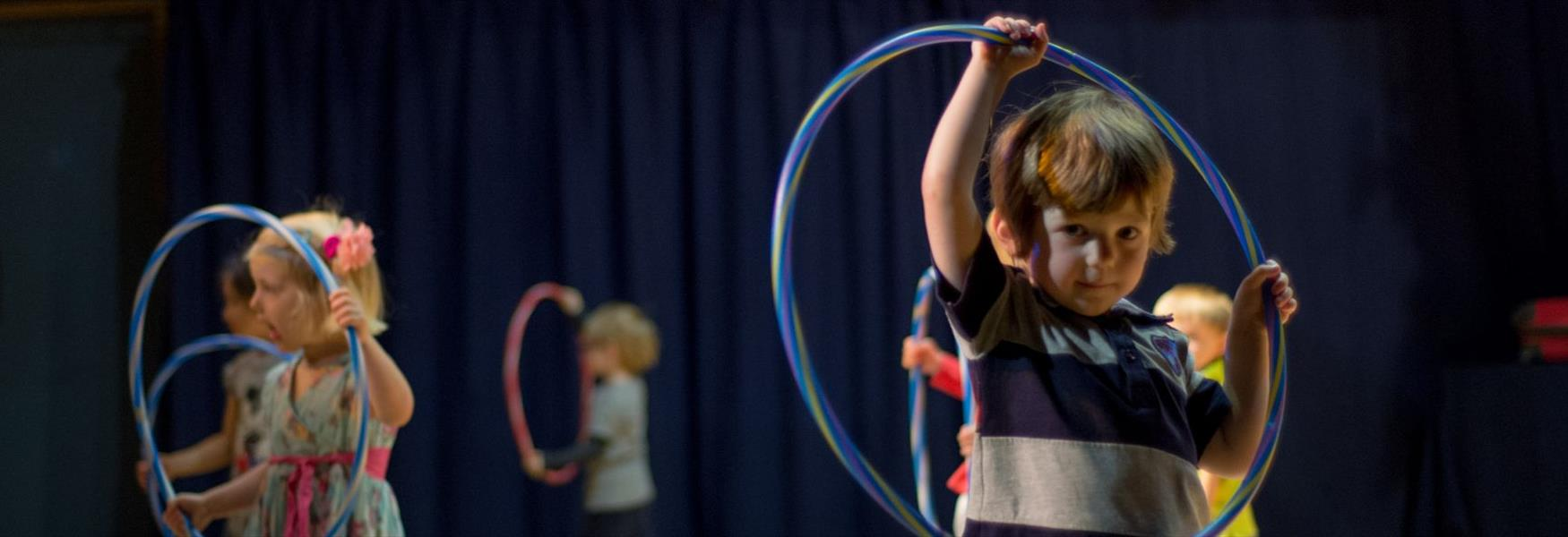 Classes for toddlers at Norden Farm