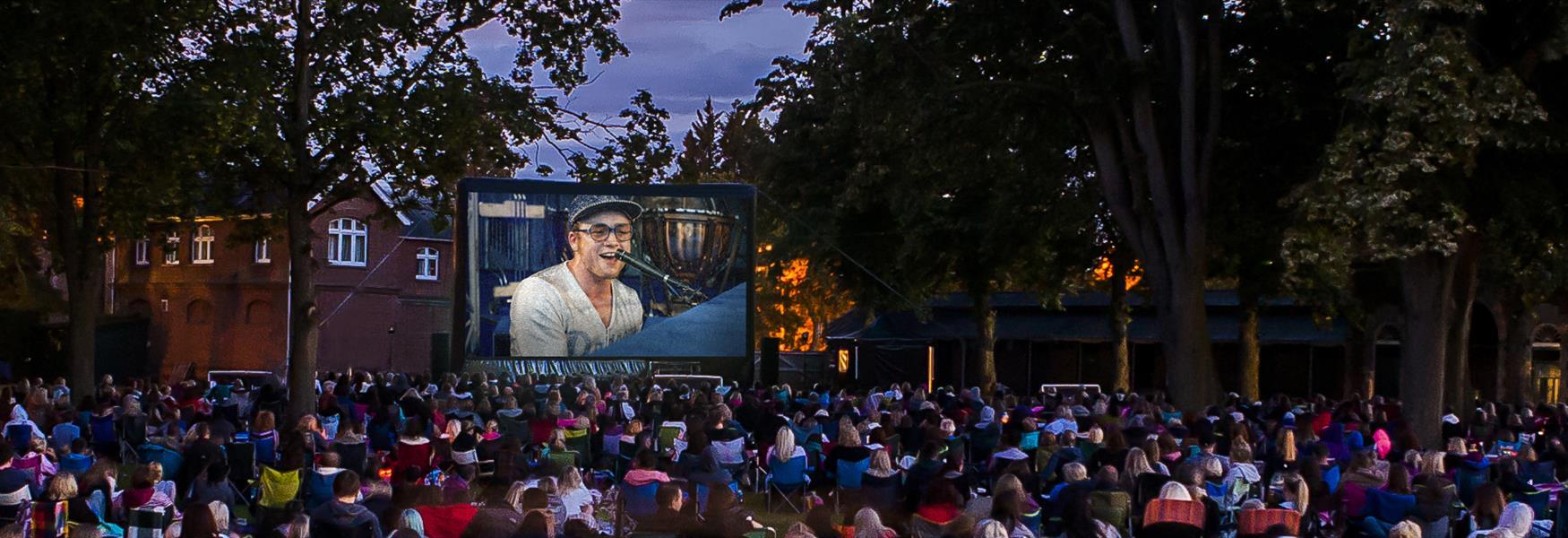 Luna Open Air Cinema at Ascot Racecourse