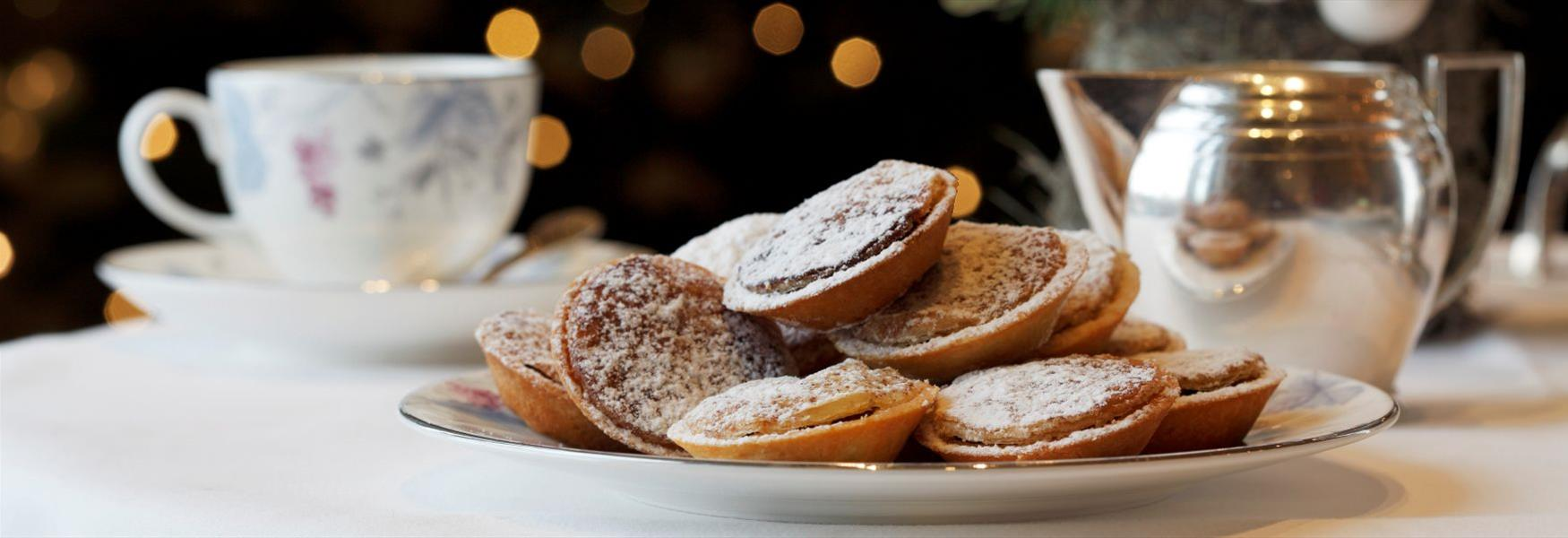 Mince pies at Coworth Park