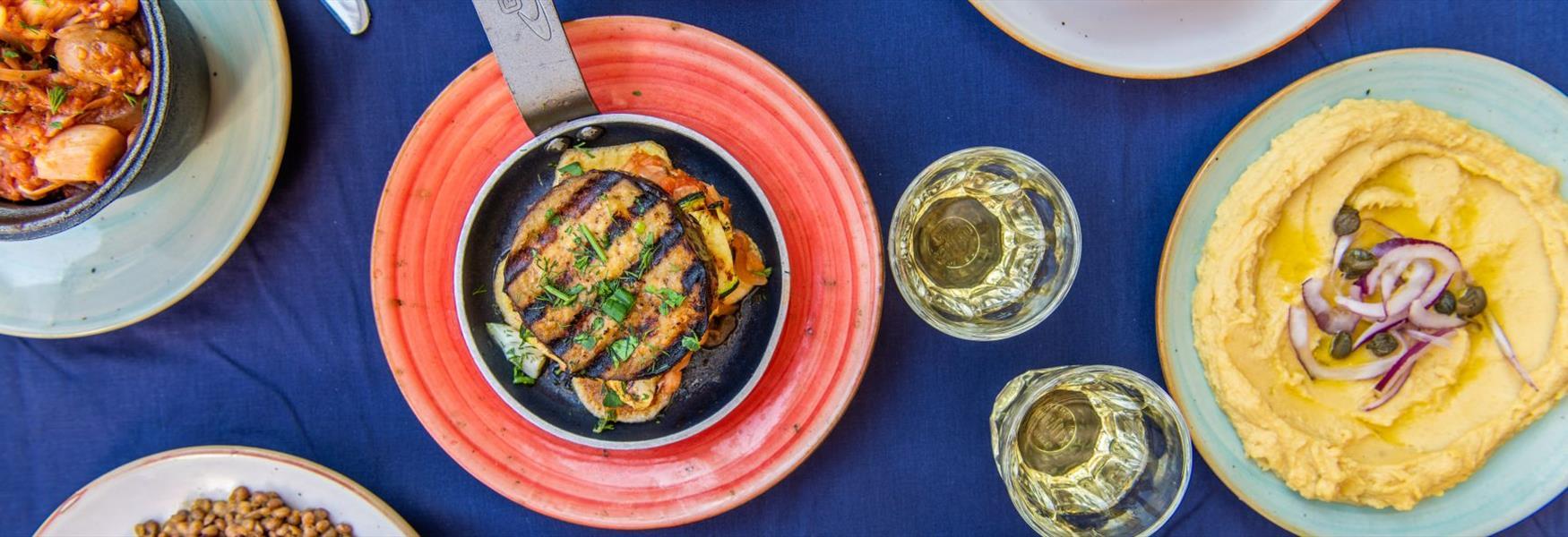 Vegan delights at The Real Greek, Windsor