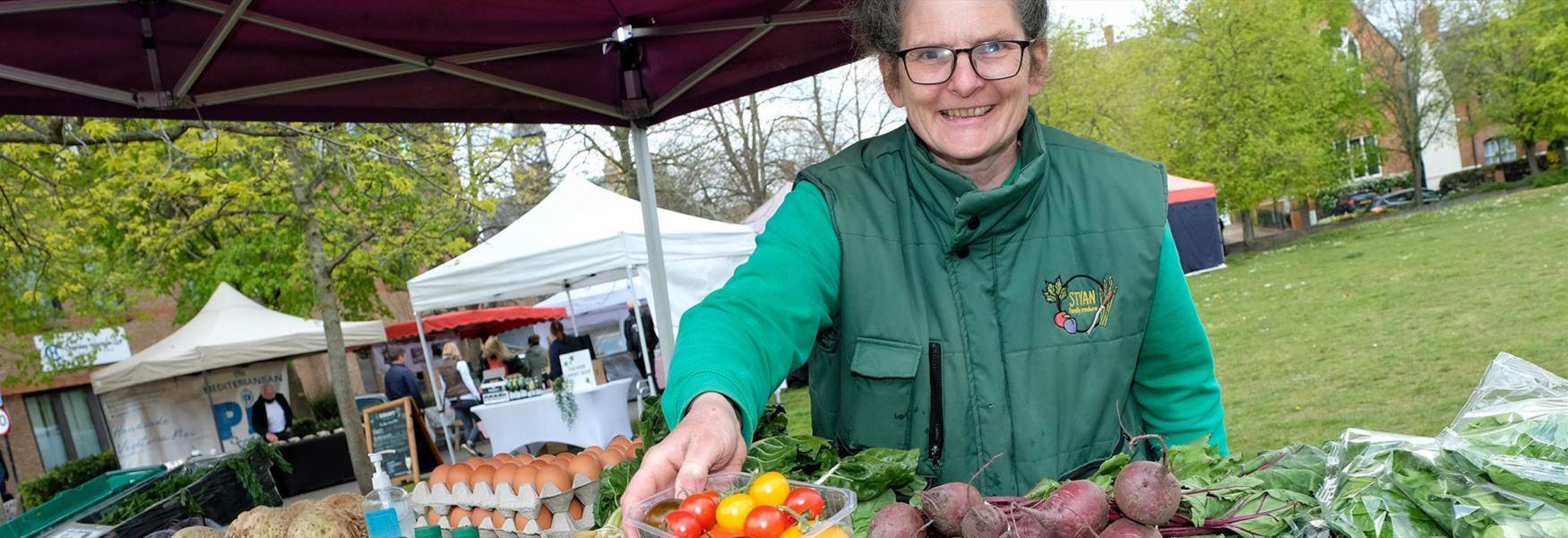 Windsor Farmers' Market, photo Mike Swift