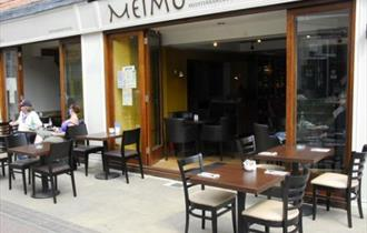 Exterior of Meimo