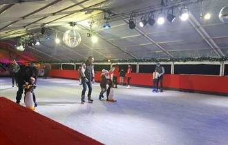 Windsor on Ice: ice skating in Alexandra Gardens, Windsor