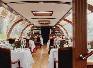 Interior of Bateaux Windsor