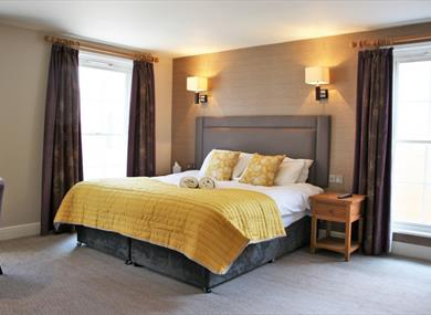 Goswell House bedroom