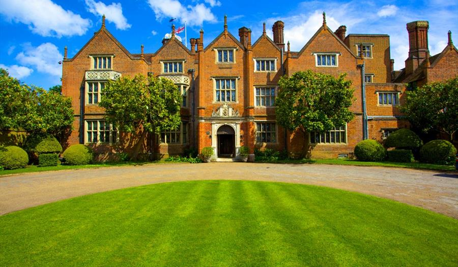 Great Fosters: front of hotel
