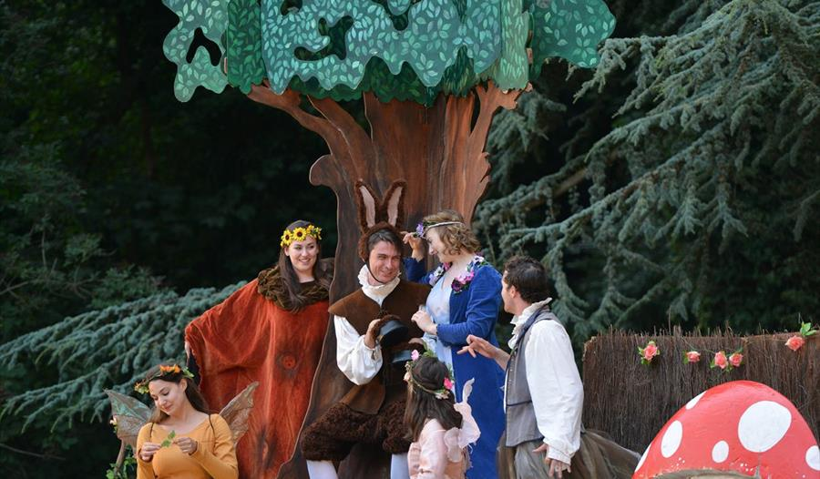 A Midsummer Night's Dream: Open Air Theatre. Image: Jane Harrison Photography