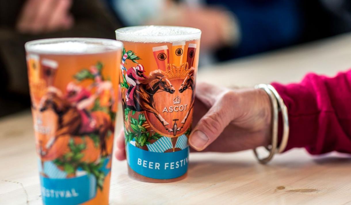 Autumn Beer Festival at Ascot Racecourse