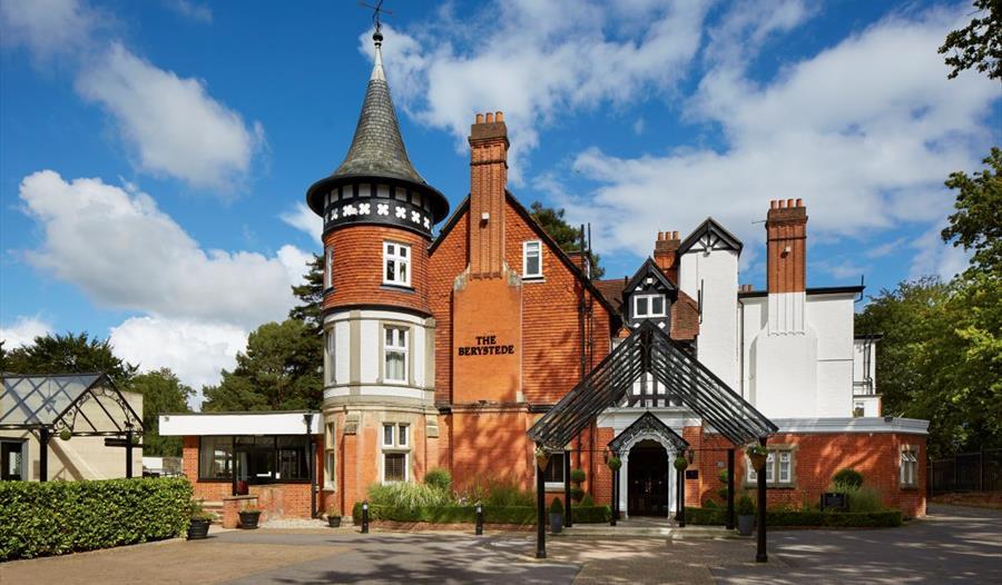 Macdonald Berystede Hotel & Spa entrance