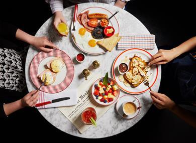 Cafe Rouge Windsor Breakfast