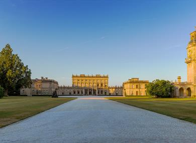 Cliveden: view from the Grand Avenue
