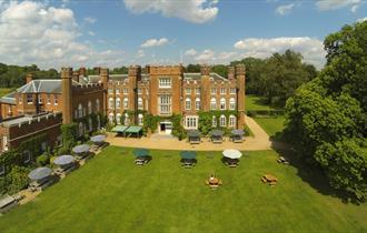 Exterior of Cumberland Lodge, Windsor Great Park