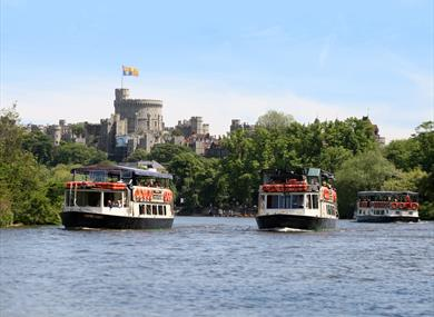 French Brothers Boats with Windsor Castle in the background