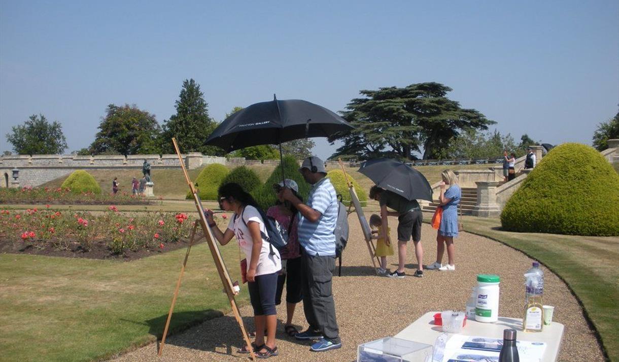 Windsor Castle East Terrace Garden: Fabulous Fountains and Flowers activity