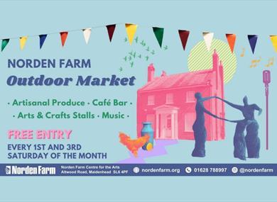 Poster for Norden Farm Outdoor Market