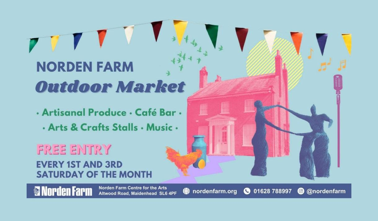 Poster for Norden Farm Outdoor Market