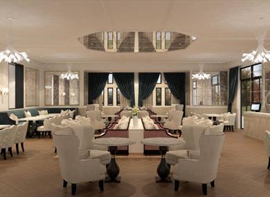 Fairmont Windsor Park Orchid Tea Room
