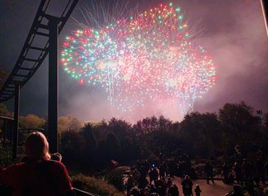 LEGOLAND® Fireworks Spectacular: Fireworks over Miniland