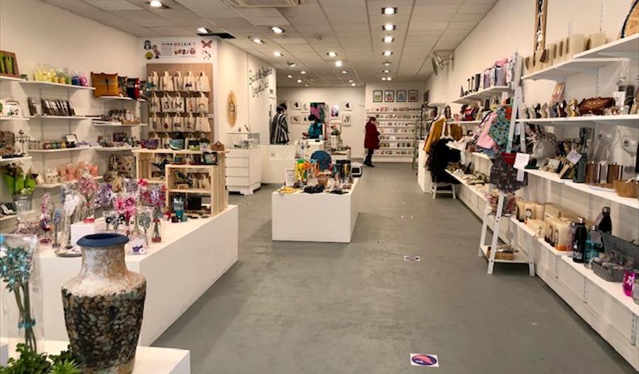 Inside Craft Coop Windsor