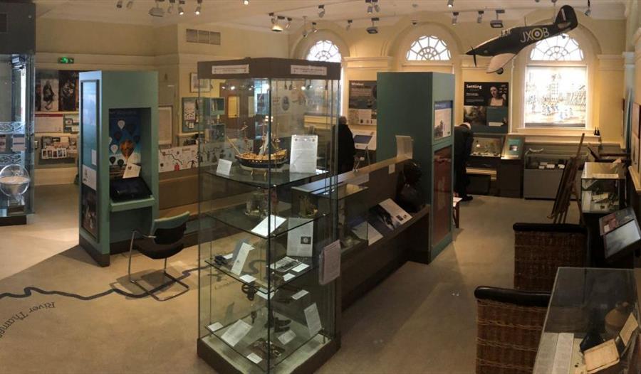 Windsor & Royal Borough Museum: inside the museum