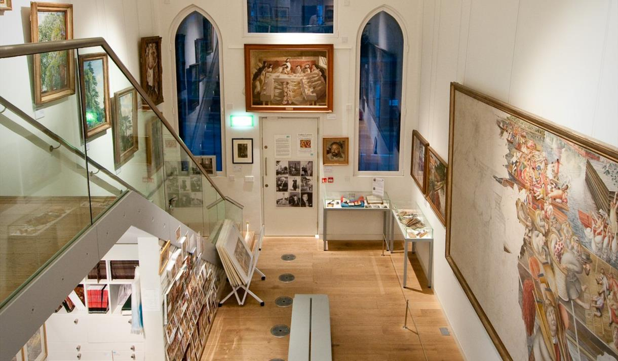 Stanley Spencer Gallery. © The Estate of  Spencer.  All Rights Reserved, 2015 / Bridgeman Art Library