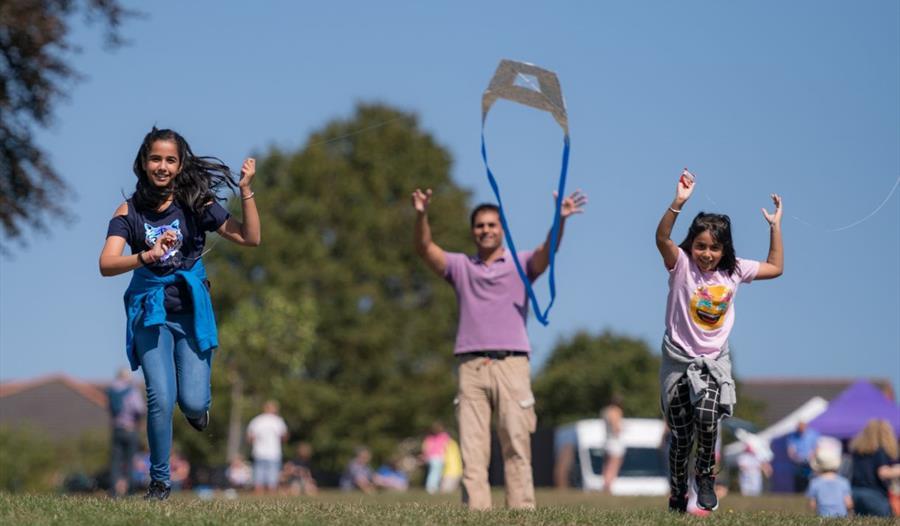 Norden Farm Kite Festival and Kite Making Workshops