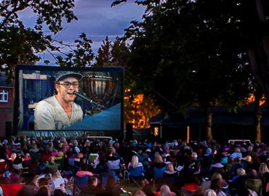 Luna Open Air Cinema at Ascot Racecourse