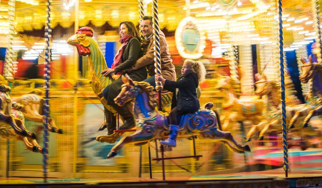 The Savill Garden: Vintage Carousel Rides