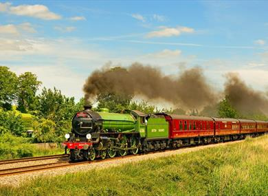 Visit Windsor aboard the Royal Windsor Steam Express