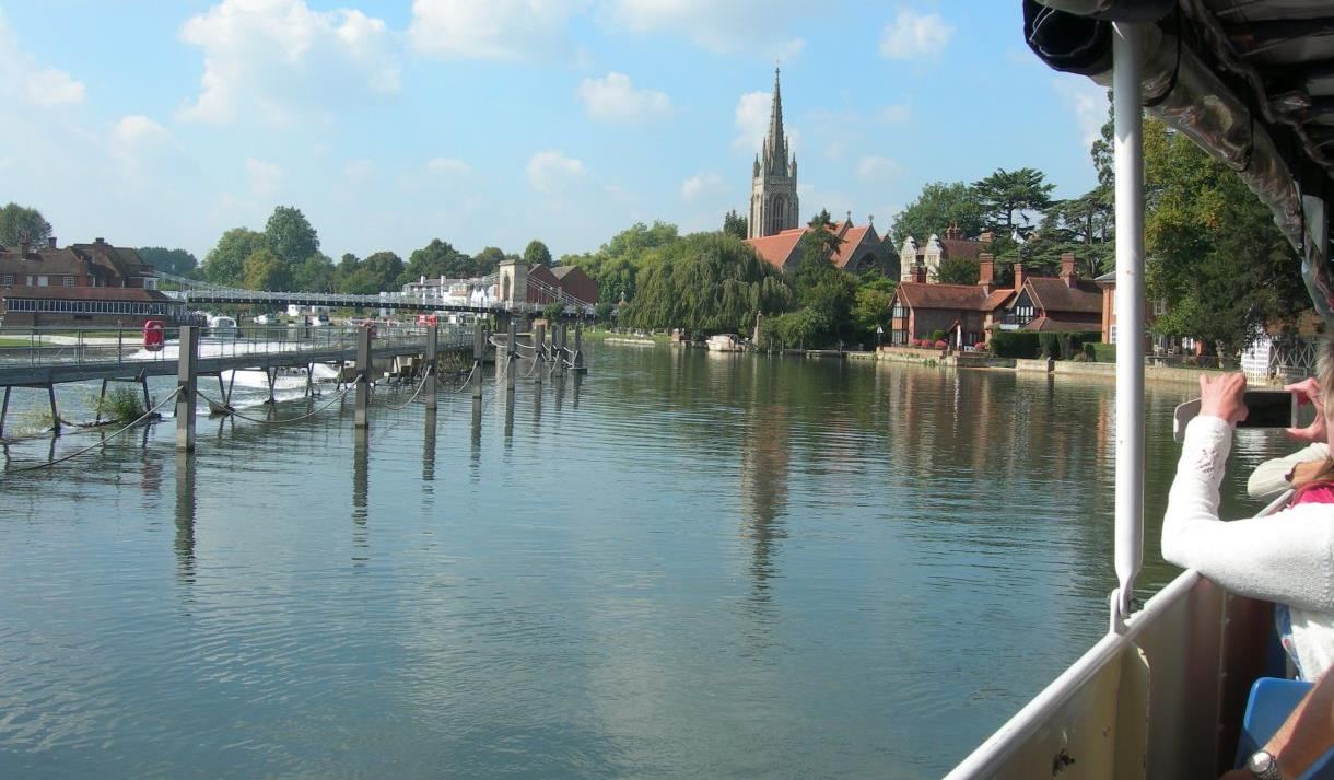 Marlow from cruise boat